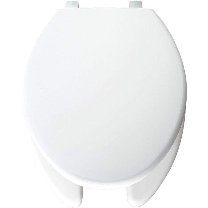 Bemis 7850tjdg 000 Justlift Plastic Elongated Toilet Seat